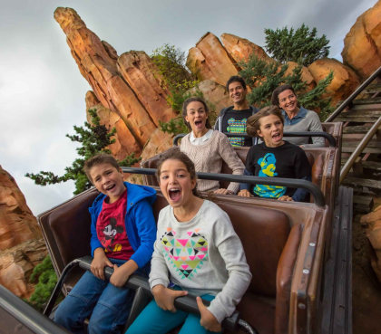 big thunder mountain attractie disneyland parijs