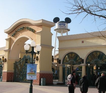 ingang disney studio one disneyland parijs