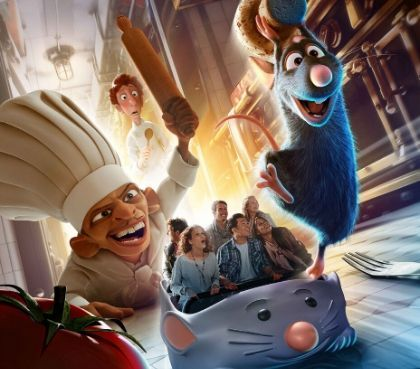 sensationele ratatouille attractie disneyland