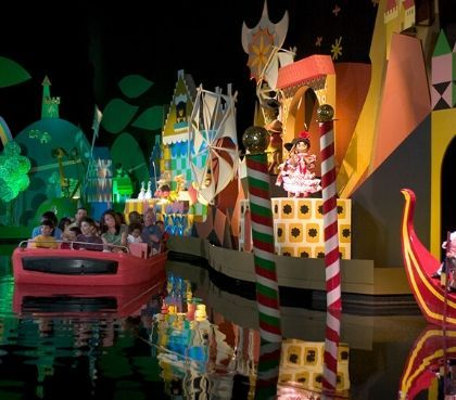 its a small world droomwereld attractie disneyland
